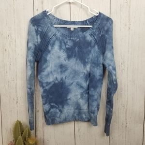 American eagle outfitter Nitted tie die sweater M